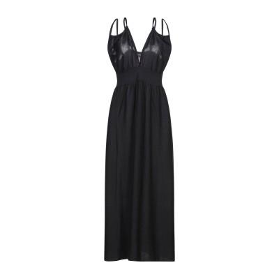 サンシックスティエイト SUN 68 ロングワンピース&ドレス ブラック XL コットン 100% ロングワンピース&ドレス