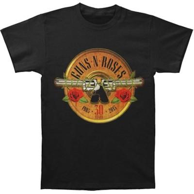 GUNS N ROSES ガンズアンドローゼズ (デビュー35周年記念 ) - 30th Photo / Tシャツ / メンズ 【公式 / オフィシャル】(M)