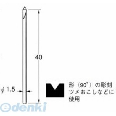 日本精密 [Q6012] 超硬タガネ 1本 Q6012