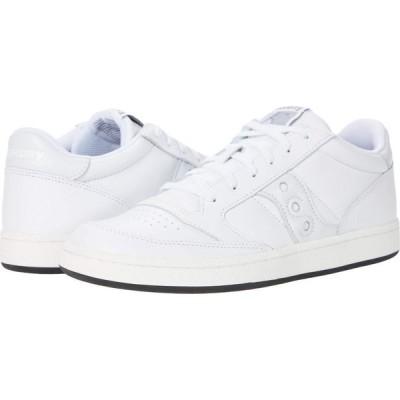サッカニー Saucony Originals メンズ スニーカー シューズ・靴 Jazz Court White/White