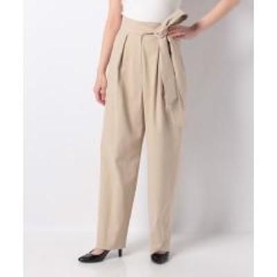 Leilian PLUS HOUSE(レリアンプラスハウス)5%OFFクーポン対象商品 【my perfect wardrobe】デザインパンツ クーポンコード:V6DZHN5