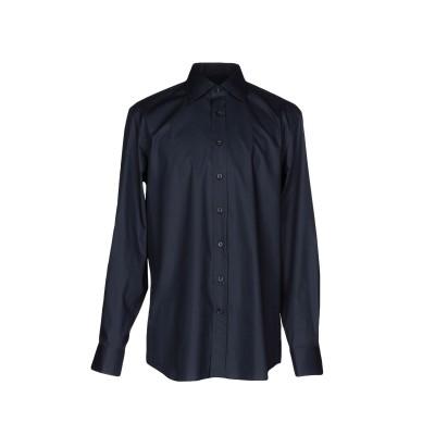 BALDESSARINI シャツ ダークブルー 39 コットン 100% シャツ