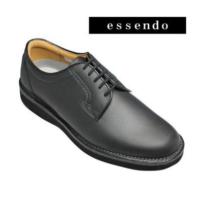 リーガル ウォーカー/牛革ビジネスシューズ(プレーントゥ)/601W(ブラック)/3E幅広/撥水加工/REGAL WALKER/メンズ 靴