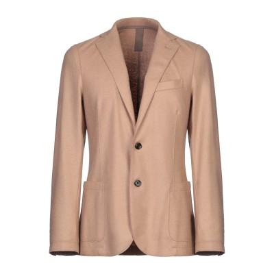 イレブンティ ELEVENTY テーラードジャケット キャメル 50 ウール 80% / ナイロン 20% テーラードジャケット
