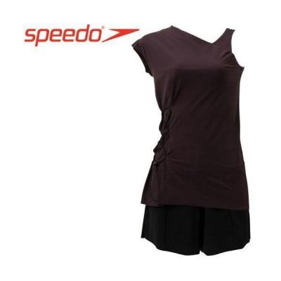 Speedo(スピード) RFND_ASYM_SEPA (SFW22141) 色 : セピア サイズ : S