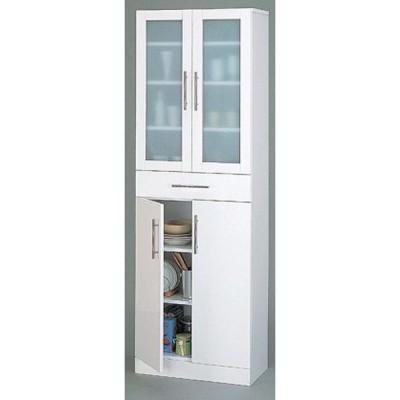 カトレア 食器棚 60-180 (23461) 代引・時間指定不可