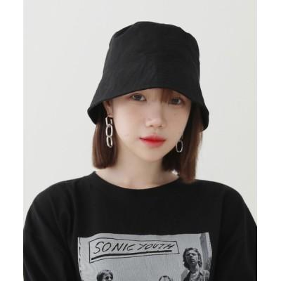 by muni:r / カジュアルモード ベーシック バケットハット WOMEN 帽子 > ハット