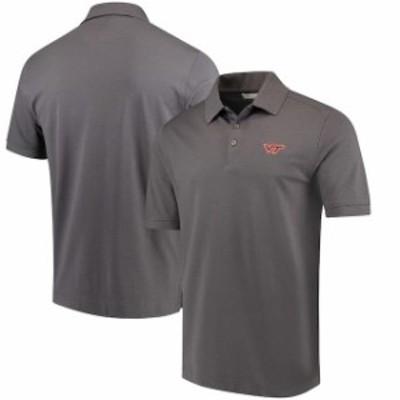 Cutter & Buck カッター アンド バック スポーツ用品  Cutter & Buck Virginia Tech Hokies Charcoal Collegiate Advant