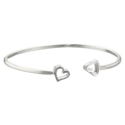 アレックスアンドアニ レディース ネックレス・チョーカー・ペンダントトップ アクセサリー Formidable Heart Cuff Bracelet