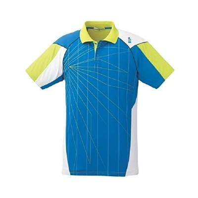 ゴーセン T1614 ゲームシャツ (T1614) 色 : ターコイズブルー サイズ : SS