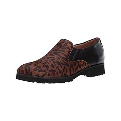 Naturalizer womens Geraldine Slip-ons Loafer, Cheetah Black, 9 Wide US