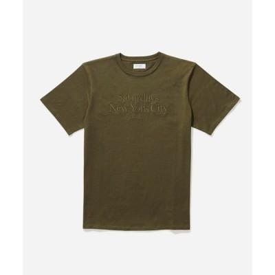 tシャツ Tシャツ EMB Miller Standard SS Tee