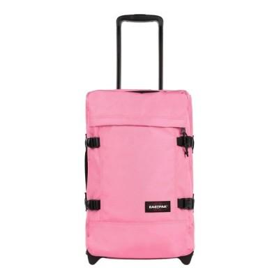 イーストパック EASTPAK メンズ スーツケース・キャリーバッグ バッグ tranverz s quiet khaki Pink