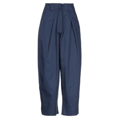 ISABELLA CLEMENTINI パンツ ブルー 40 コットン 100% パンツ