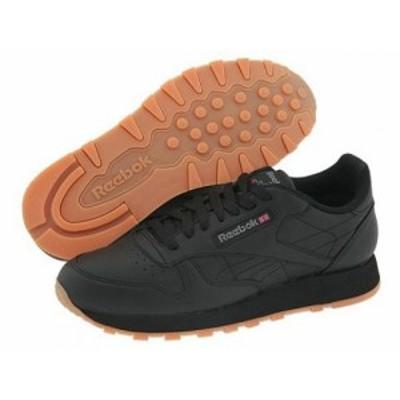 Reebok Lifestyle リーボック メンズ 男性用 シューズ 靴 スニーカー 運動靴 Classic Leather Black/Gum【送料無料】