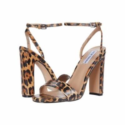 スティーブ マデン Steve Madden レディース サンダル・ミュール シューズ・靴 Arianna Heeled Sandal Leopard