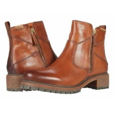 Pikolinos レディース 女性用 シューズ 靴 ブーツ アンクル ショートブーツ Aspe W9Z-8701C1 Brandy【送料無料】