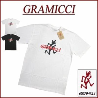 【2色4サイズ】 gm711 新品 GRAMICCI グラミチ LOGO TEE ランニングマン 半袖 Tシャツ GUT-19S086 メンズ アメカジ アウトドア ティーシ