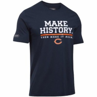 Under Armour アンダー アーマー スポーツ用品  Under Armour Chicago Bears Navy NFL Combine Authentic Make History Pe