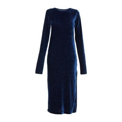 MM6 メゾン マルジェラ MM6 MAISON MARGIELA 7分丈ワンピース・ドレス ブルー S ポリエステル 95% / ポリウレタン 5