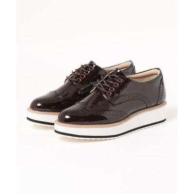 GeeRA / オックスフォード厚底靴 WOMEN シューズ > スニーカー