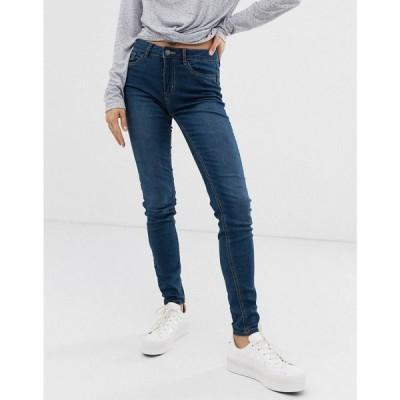 ピーシーズ Pieces レディース ジーンズ・デニム ボトムス・パンツ skinny jeans ミディアムブルーデニム