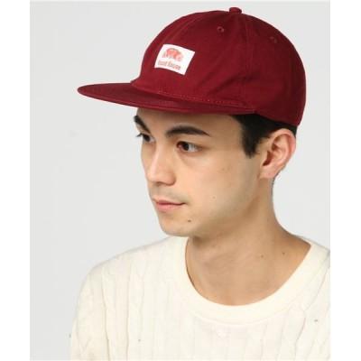 atmos pink / ROUND HOUSE WASHED TWILL FLAT VISOR BB CAP MEN 帽子 > キャップ