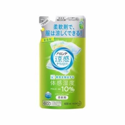 ハミング 涼感テクノロジー スプラッシュグリーンの香り 詰替用 400ml 4901301382115
