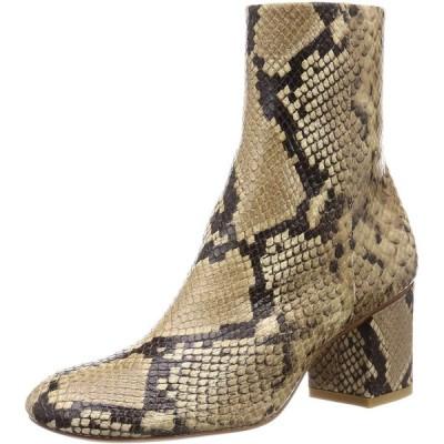 [ピッピシック] Oblique toe Short Boots レディース OBLIQUE SHORT BOOTS6 パイソン 24 cm