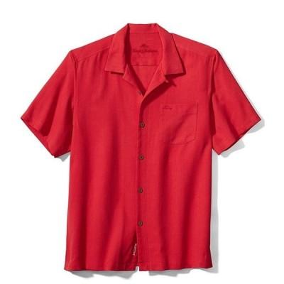 トッミーバハマ メンズ シャツ トップス Royal Bermuda Short-Sleeve Woven Camp Shirt