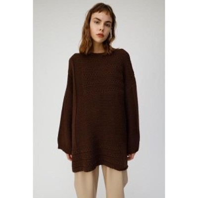 マウジー(MOUSSY)/BOXY KNIT TUNIC