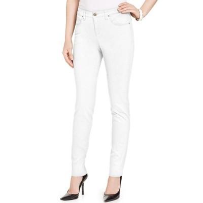スタイルアンドコー デニムパンツ ボトムス レディース Petite Curvy-Fit Skinny Jeans, Created for Macy's Bright White