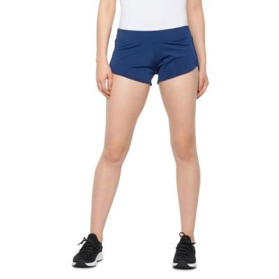 ボディーグローヴ Body Glove レディース ランニング・ウォーキング ショートパンツ ボトムス・パンツ Knit Running Shorts Blue