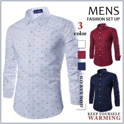 シャツ メンズ ボタンダウンシャツ カジュアルシャツ 長袖 メンズ 細身 白シャツ 無地 綿シャツ トップス ビジネス 2017