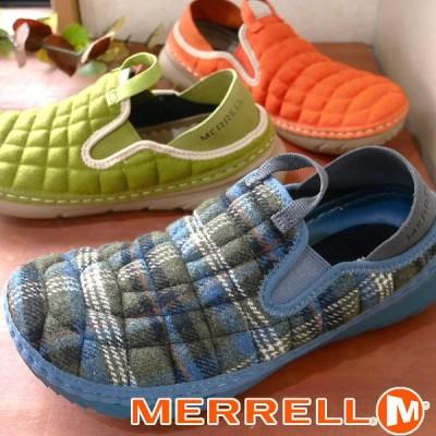 メレル MERRELL レディース スリッポン ハットモック 2WAY モックシューズ J002460 オリーブ/ブルーウール J5002382 オレンジ J5002378 グリーン hawks202110