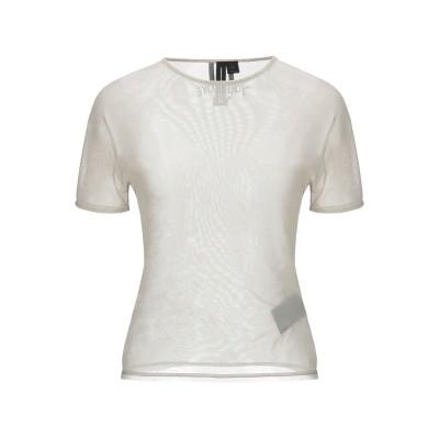 ワイスリー Y-3 T シャツ ライトグレー XS ナイロン 94% / ポリウレタン 6% T シャツ