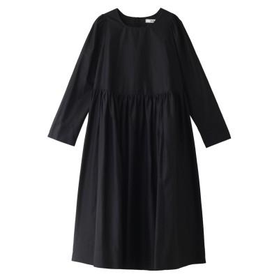 Bilitis dix-sept ans ビリティス・ディセッタン プレイン Lawn ドレス レディース ブラック 36