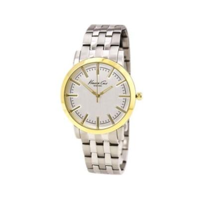 腕時計 ケネスコール Kenneth Cole KC9335 Gents Quartz Silver Dial Steel Bracelet Watch Used