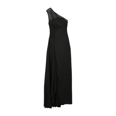 ホルストン・ヘリテージ HALSTON ロングワンピース&ドレス ブラック 2 ポリエステル 100% ロングワンピース&ドレス