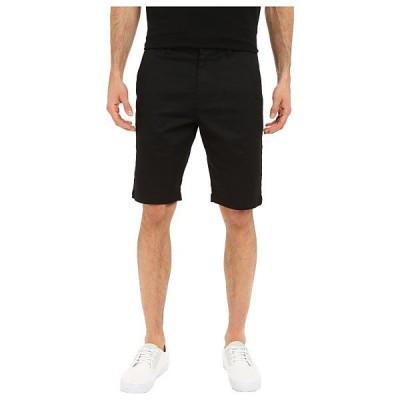 ボルコム ハーフ&ショーツ メンズ Frickin Modern Stretch Chino Shorts Black
