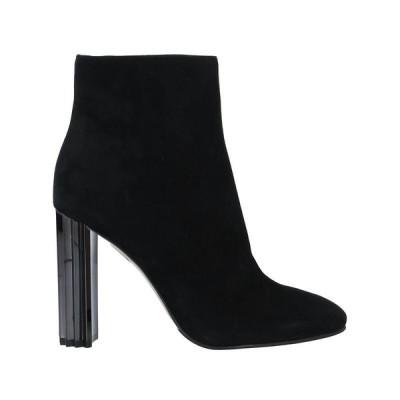 LE SILLA ショートブーツ  レディースファッション  レディースシューズ  ブーツ  その他ブーツ ブラック