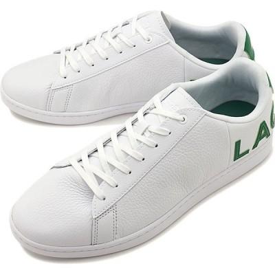 ラコステ LACOSTE メンズ カーナビー エヴォ M CARNABY EVO 120 7 US スニーカー 靴 WHT GRN ホワイト系 SMA0052-082 SS20