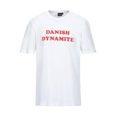 ヒュンメル HUMMEL T シャツ ホワイト S コットン 100% T シャツ
