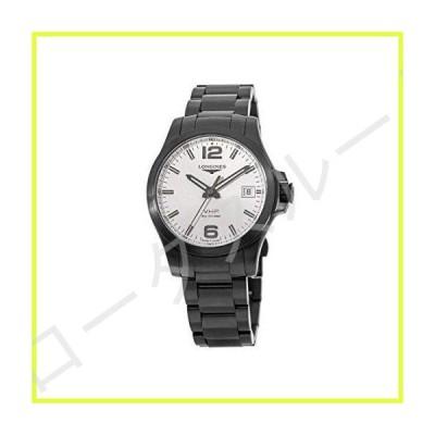 [ロンジン] 腕時計 コンクエスト V.H.P 41mm 5気圧防水 シルバー メンズ クォーツ L3.716.2.76.6 VHP 年差±5秒超