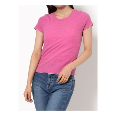 dazzlin メローTシャツ(ピンク)