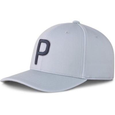 プーマ 帽子 アクセサリー メンズ PUMA 100 Adjustable Snapback Golf Cap White