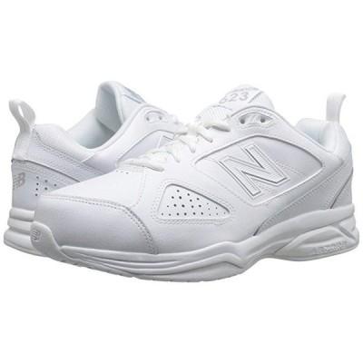 ニューバランス 623v3 メンズ スニーカー 靴 シューズ White