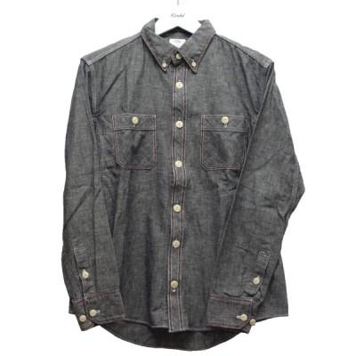 VISVIM 「SHIGATSE SHIRT L/S LUXSIC」 シャンブレーシャツ グレー サイズ:1 (中目黒店) 200928