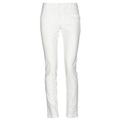 FRACOMINA パンツ ホワイト 40 コットン 51% / ナイロン 46% / ポリウレタン 3% / ポリエステル パンツ