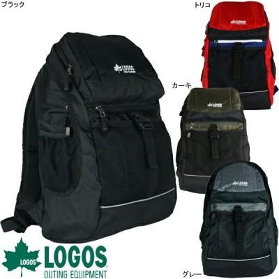LOGOS ロゴス ディパックM バックパック リュック ポケット 79-08 ブラック グレー トリコ カーキ